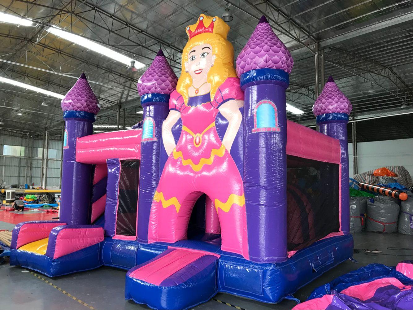 Princess Bouncer with Slide