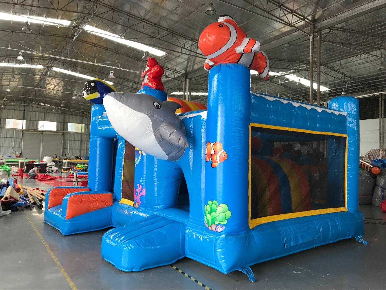 Seaworld Bouncer with Slide